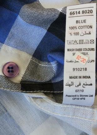 Новая рубашка в клетку urban spirit размер xs-s9 фото