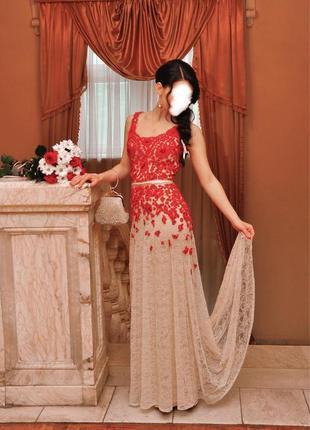 Вечернее платье оксана муха