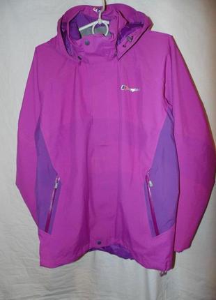 Куртка ветровка berghaus оригинал gore-tex система мембрана новая весна - лето