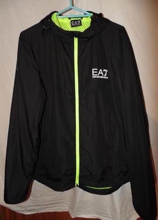 58fd9393 Легкая летняя куртка ветровка emporio armani ventus 7 оригинал новая