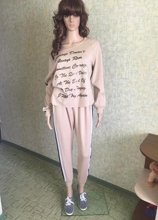 7b279cb098d Женские брючные костюмы с лампасами 2019 - купить недорого вещи в ...
