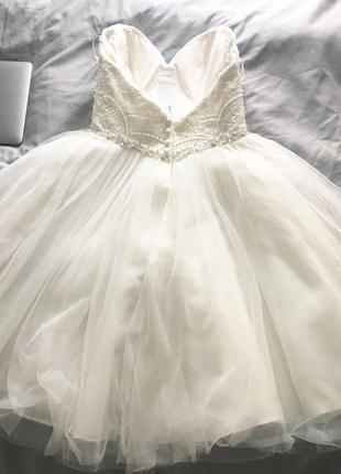 До 24/05/19 шикарное свадебное платье