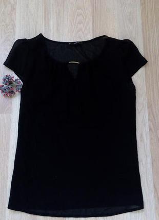 Шифоновая футболочка-блуза george