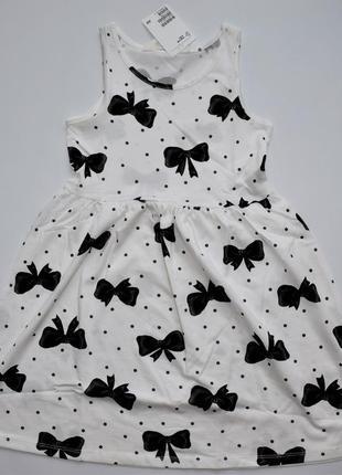 Красивое и легкое платье - сарафан  h&m из хлопка