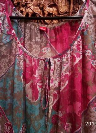 Очень красивая туника - блуза на наши 50-56р.
