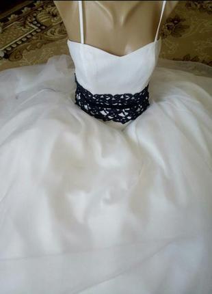 Шикарное новое пышное платье свадебное,выпускное