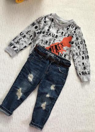 Guess крутые джинсы  на мальчика 2- 3 года .
