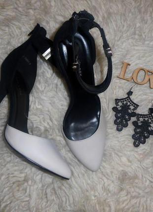 Шикарные туфли лодочки,босоножки new look1 фото