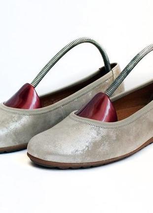 Кожаные балетки gabor. размер 39,5-40