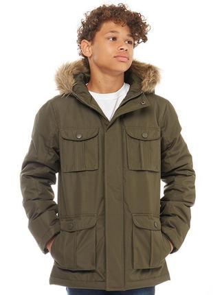 Куртка парка для мальчика-подростка kangaroo poo англия