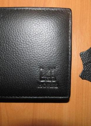 Кошелек мужской из натуральной кожи кожаный кожаное портмоне шкіряний гаманець