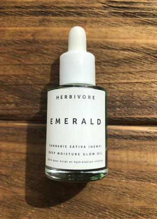 Люкс! масло для сияния лица herbivore emerald moisture glow oil