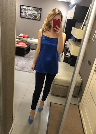 Майка синий электрик италия