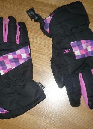 Перчатки  лыжные для девочки 12-15лет
