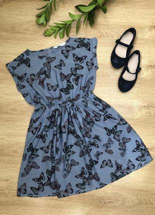 Летнее платье-сарафан 8-10 лет