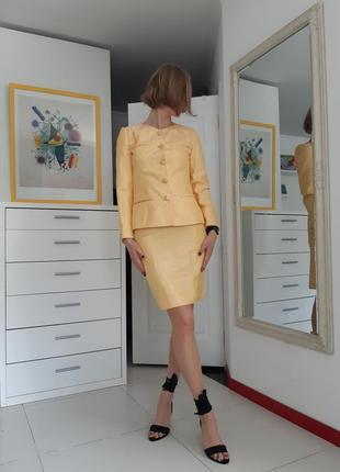 Желтый костюм partypris paris