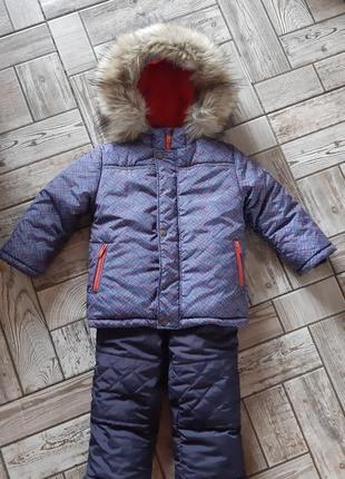 Зимний костюм для малыша bembi