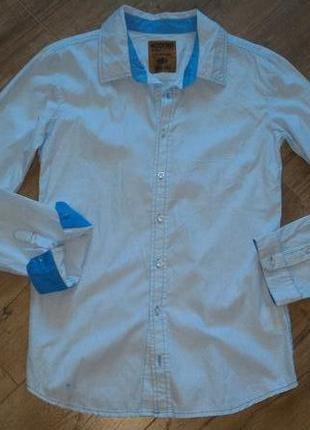 Новая хлопковоя рубашка на подростка modeno/англия.170-176 рост