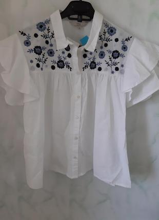 e01d4f5cc85 Белые блузки C A 2019 - купить недорого вещи в интернет-магазине ...