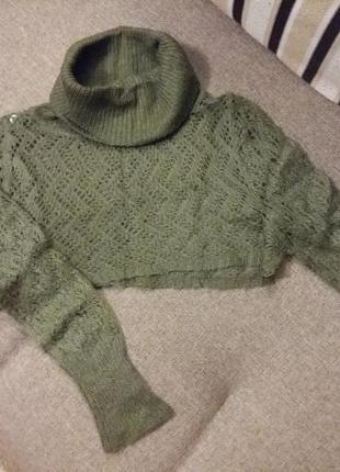 Милейший кроп свитер
