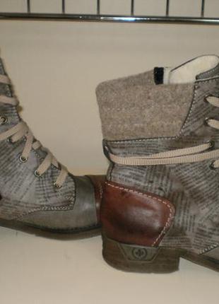 Ботинки rieker (рикер)  42р