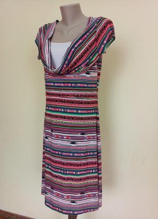 Итальякое трикотажное платье