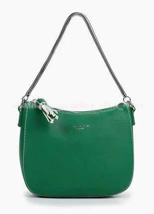 Клатч, сумка через плечо david jones 5093 зеленая