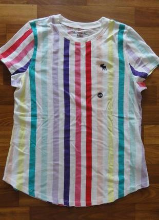 Новая яркая футболка аберкромби