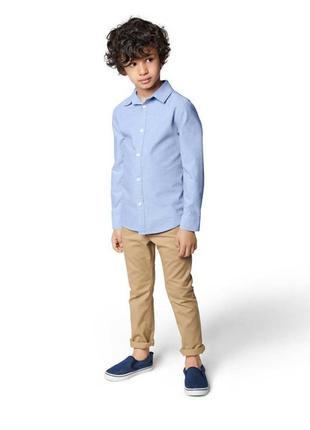 Брюки, джинсовые, на мальчика, светлые, летние