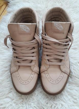 Обалденные кожаные кроссы..кеды