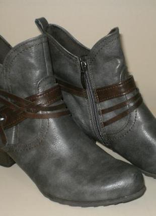 Ботинки tamaris (тамарис)  38р.