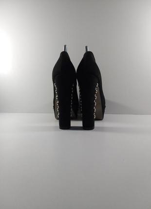 👉крутые модные туфли на высоком каблуке👈3 фото