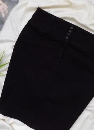 Джинсовая юбка карандаш4 фото