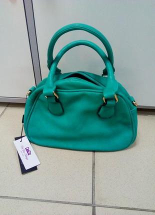 Красивая бирюзовая маленькая сумочка