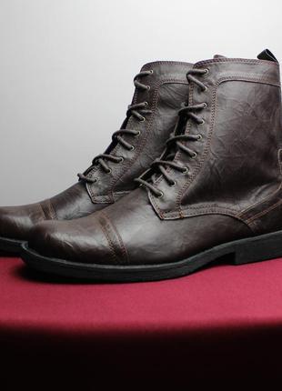 Стильные высокие ботинки topman