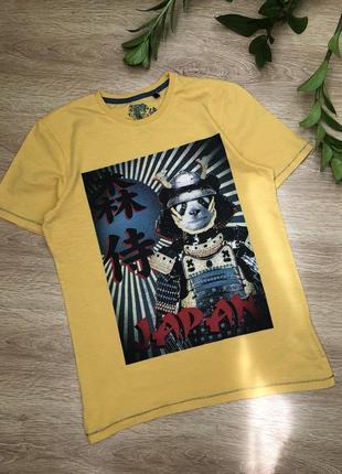 Стильная трикотажная футболка 12-14 лет