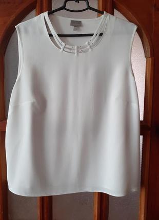 Легкая блузка с коротким рукавом размер  l-xl/50-52