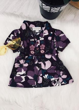 Блуза 6-9 міс