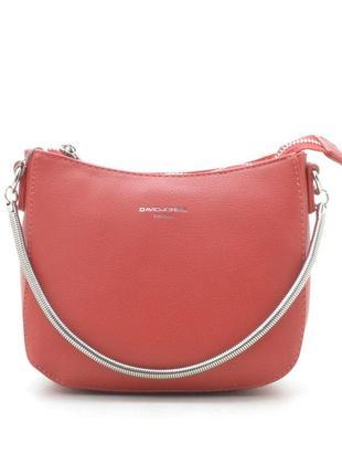 Новая красная женская сумка клатч