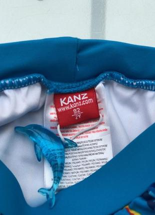 Плавки памперс для мальчика фирменные kanz оригинал2 фото