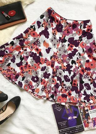Милейшая юбка с акварельные цветы m&co