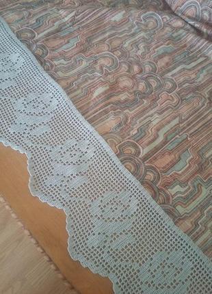 Кайма-подзор-бордюр для декора штор, занавесок3 фото