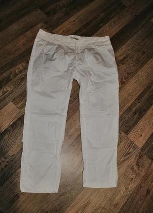 Укороченые брюки чиносы