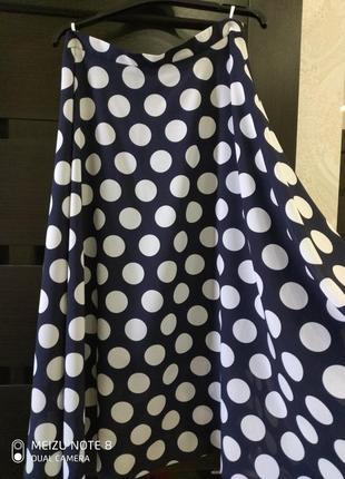 Классная шифоновая юбка!4 фото