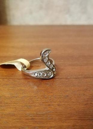 Кольцо змея дорогая бижутерия