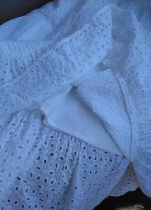 Крутая ажурная юбка в пол 100% прошва.9 фото
