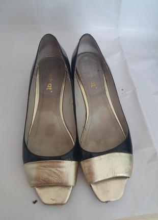 Элегантные лаковые туфли, wildcat, размер 40
