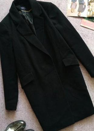 Пальто бойфренд m&s