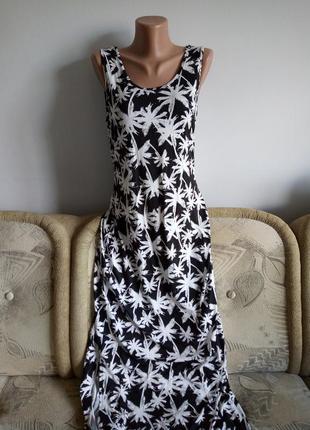 Натуральное платье, р. 16