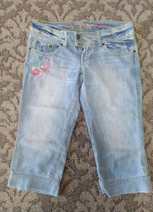 Летние джинсовые бриджи шорты!